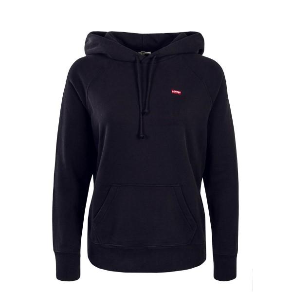 Levis Wmn Hoody Garment Black