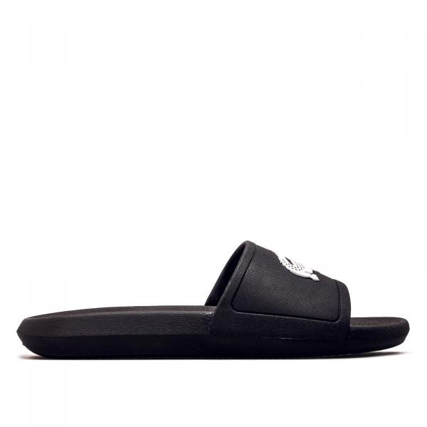 Herren Slide Croco Black White
