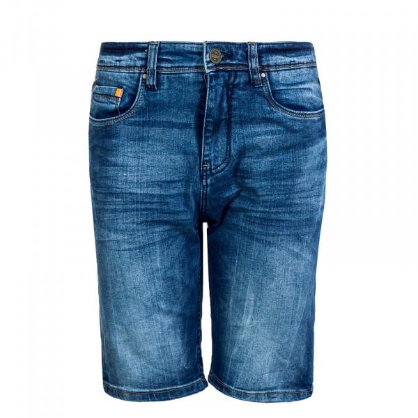 Herren Bermuda Jeans T61 960K Middle Blue