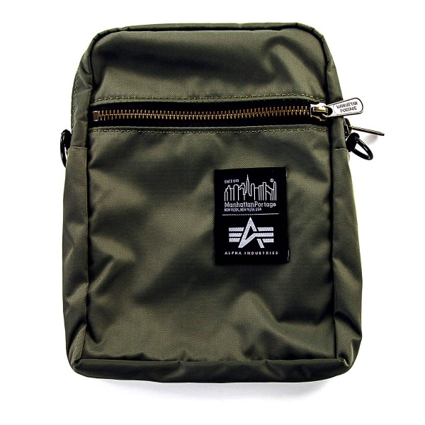 Alpha Bag Mini Nylon City Lights Green