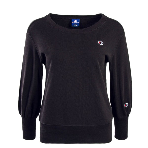 Champion Wmn Sweat 110666 Black