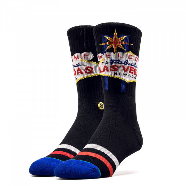 Socken Las Vegas Glitter Gultch Black