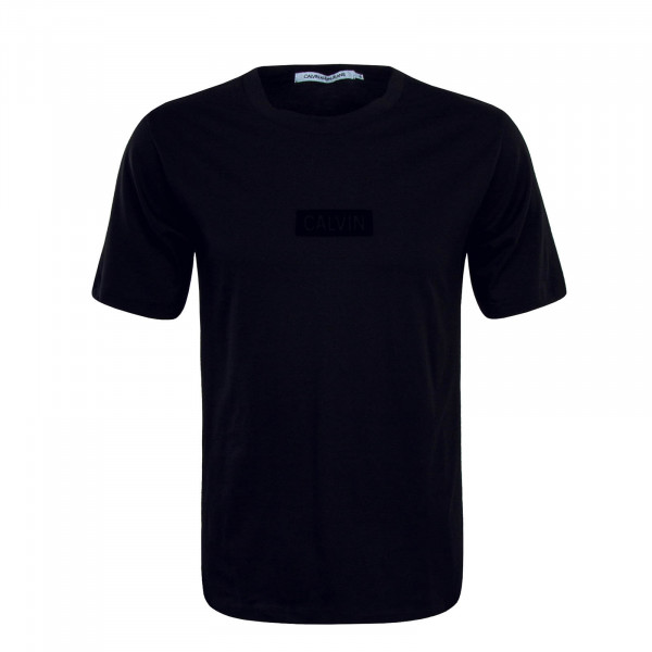 T-Shirt Flock Center Black