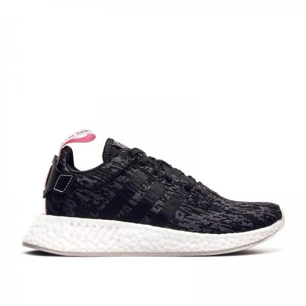 Adidas U NMD R2 W Black Black Pink