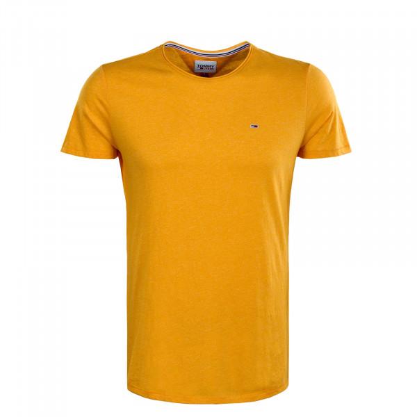 Herren T-Shirt - Slim Jaspe Tee - Florida Orange