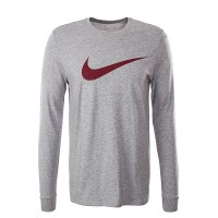 Nike LS Icon Grey Bordo