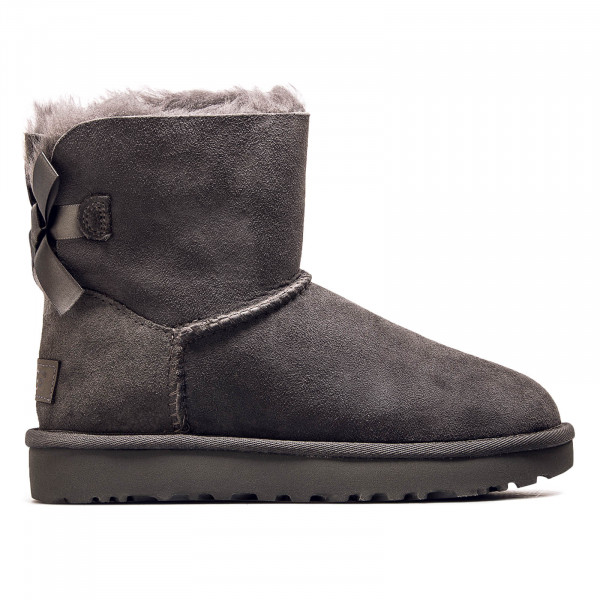 UGG Wmn Classic Mini Bailey Bow ii Grey