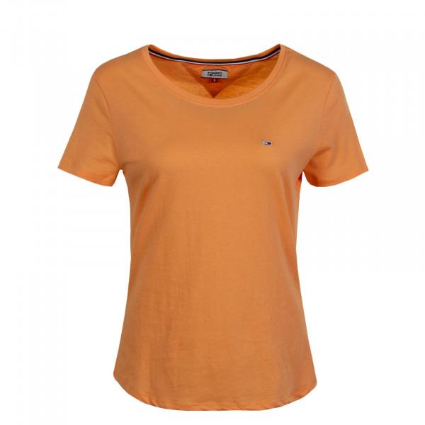 Damen T-Shirt Soft Jersey Orange