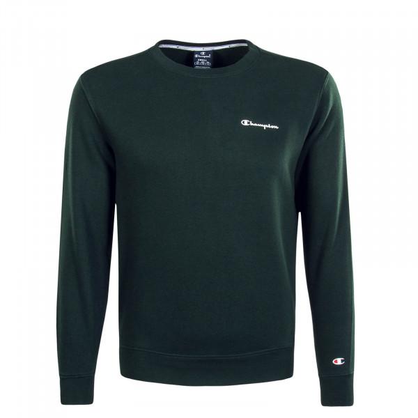 Herren Sweatshirt 213484 Green White