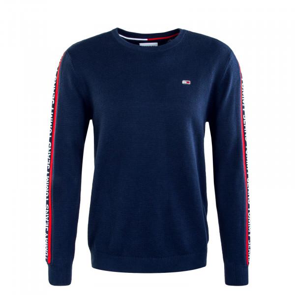 Herren Sweatshirt TJM Sleeve Tape Knit Sweat Navy