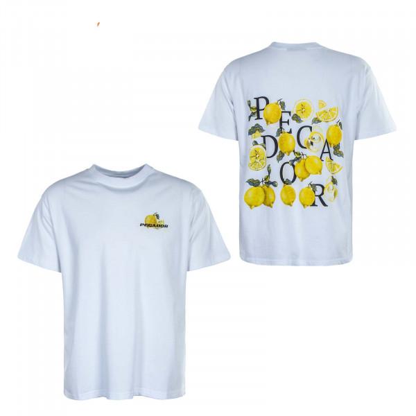 Herren T-Shirt - Limonade Oversized - White
