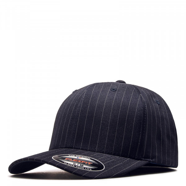 Cap Pin Stripe 6195 Navy White