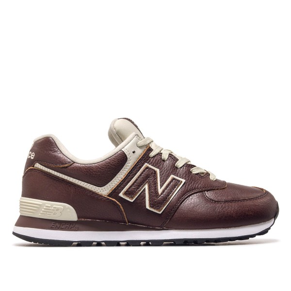 New Balance ML574 LPB Lth Brown Beige