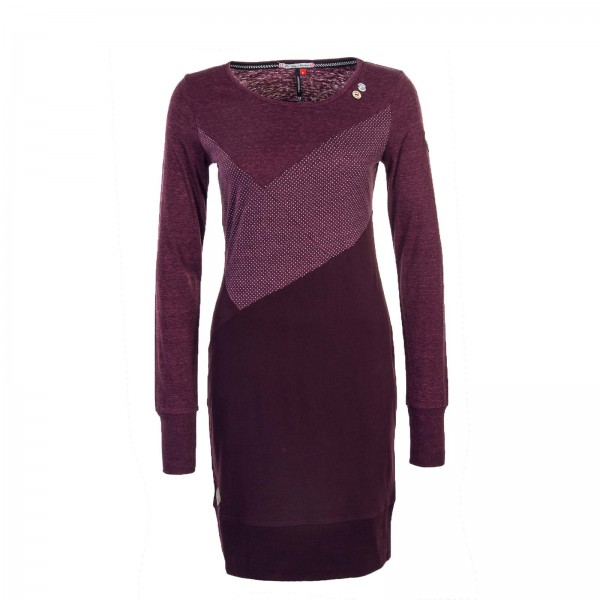 Ragwear Wmn Dress Viola Plum