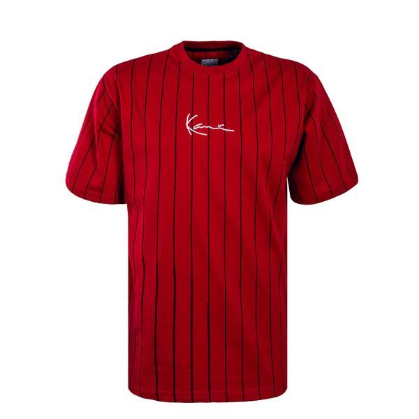 Karl Kani TS Supplier Strip Red Black
