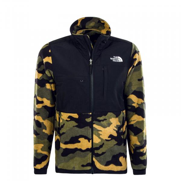 Herren Jacke Denali 2 Black Camouflage