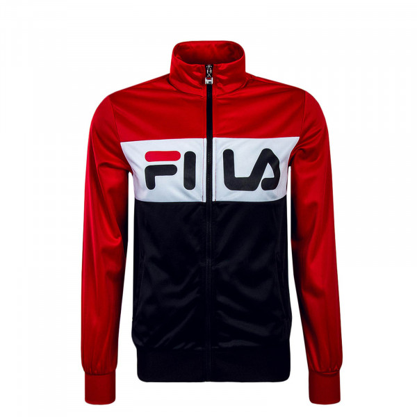 Fila Trainingsjacke Line Track Red White Black