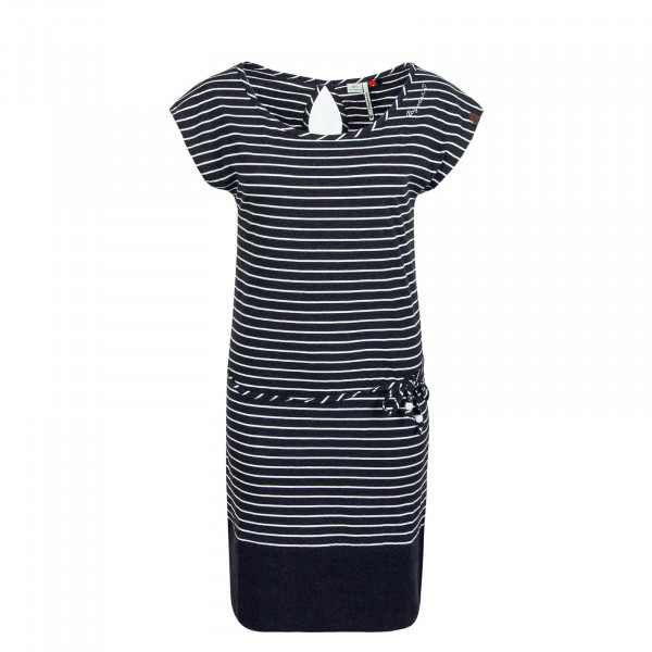 Kleid Soho Stripe Black
