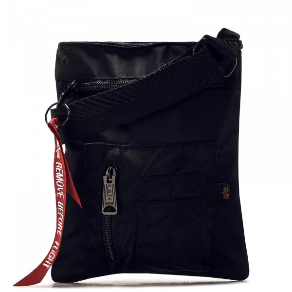 Alpha Bag Messenger Black