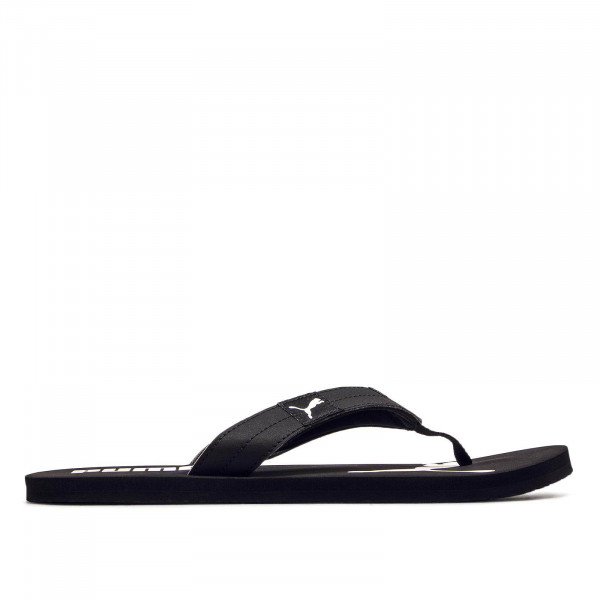 Herren Slide Cozy Black White