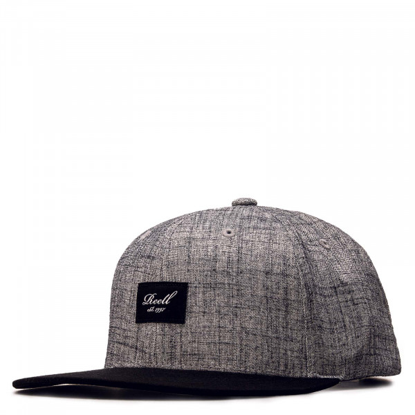 Unisex Cap - Pitchout Heather - Grey / Washed / Black