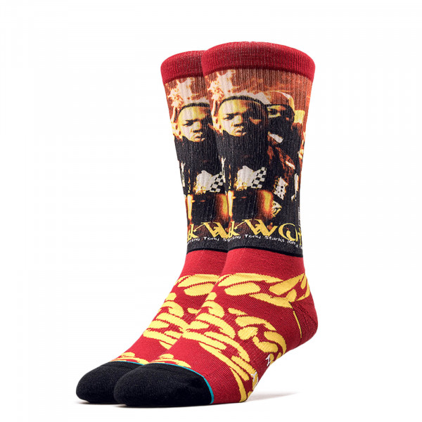 Stance Socks Anthem Cuban Linx Red