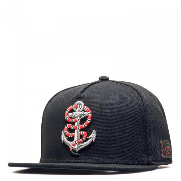 C&S Cap WL Anchored Black Red