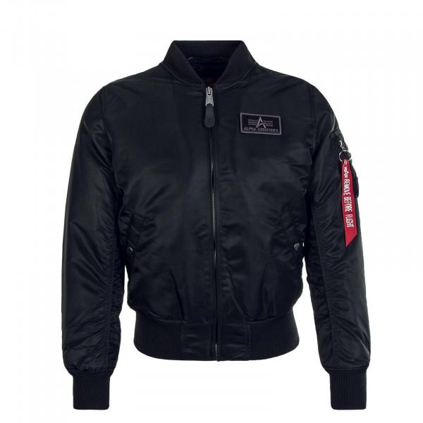 Herren Jacke MA1 D-Tec Black Black
