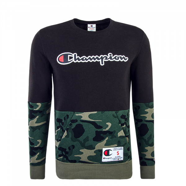 Champion Sweat 211914 Black Camo Olive