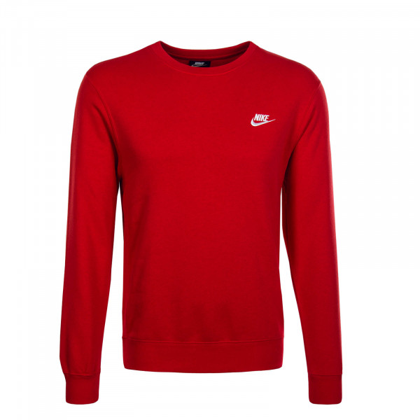 Herren Sweatshirt Club NSW Red White