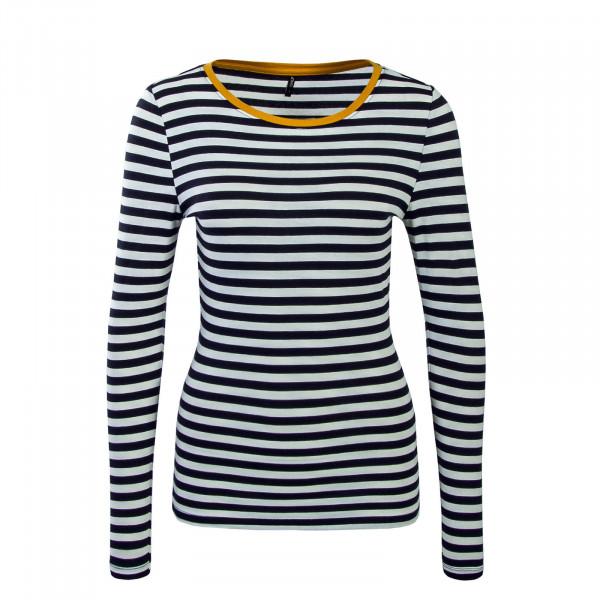 Only LS Fifi Stripe Beige Navy