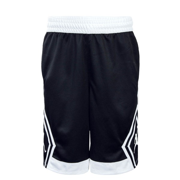 Jordan Short Rise Diamond Black White