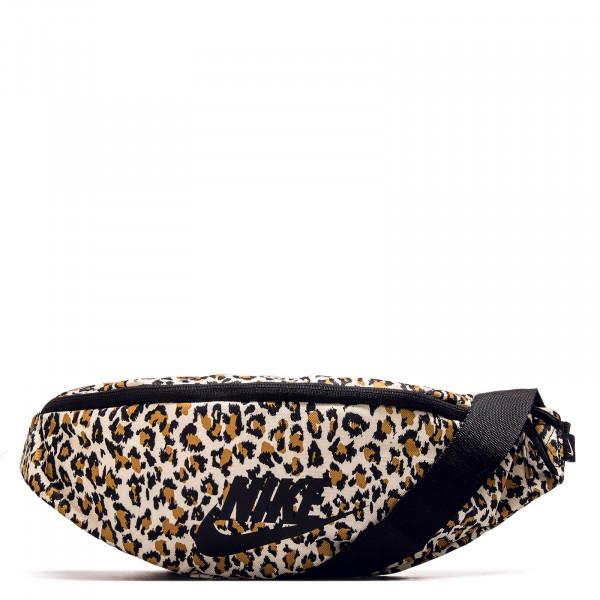 Hip Bag Leopard Brown Black