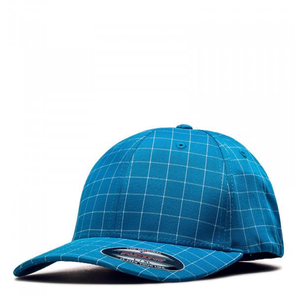 Lifestyle Cap Flexfit Square Check Blue