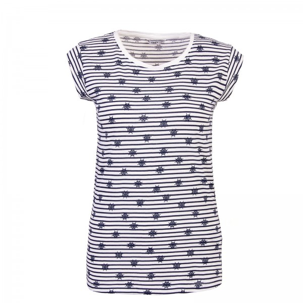 Only Top New Sailor Stripe White Navy