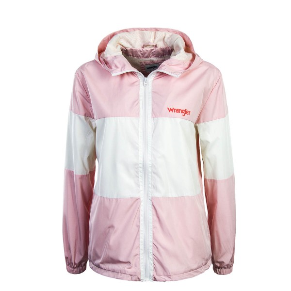 Wrangler Wmn Jkt Retro Rose White