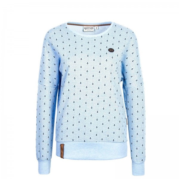 Naketano Wmn Sweat Jane Forensik BlueMel