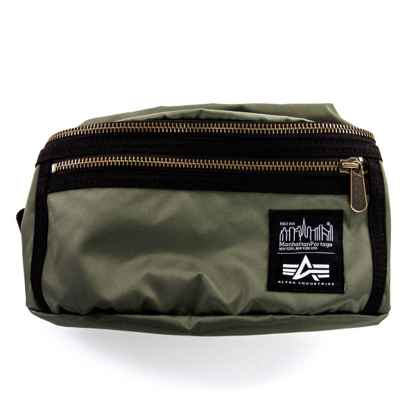 Alpha Bag Hip Waist Nylon Green