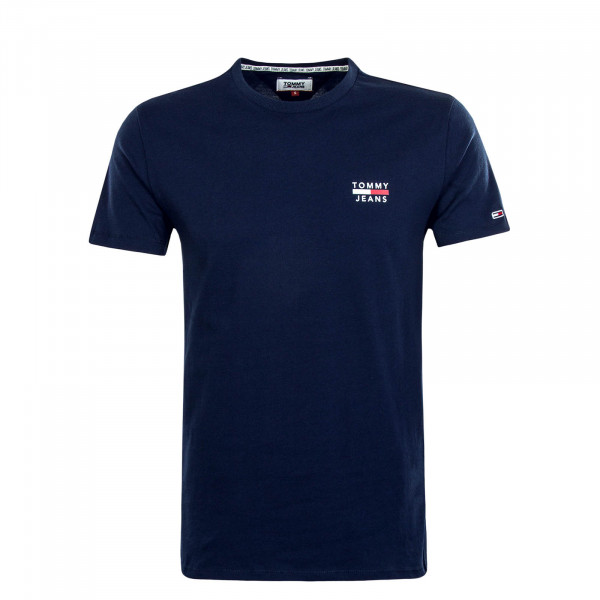 Herren T-Shirt 7472 Chest Logo Navy