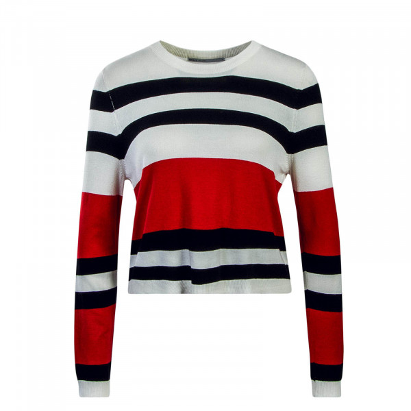Damen Longsleeve Houston Beige Black Red