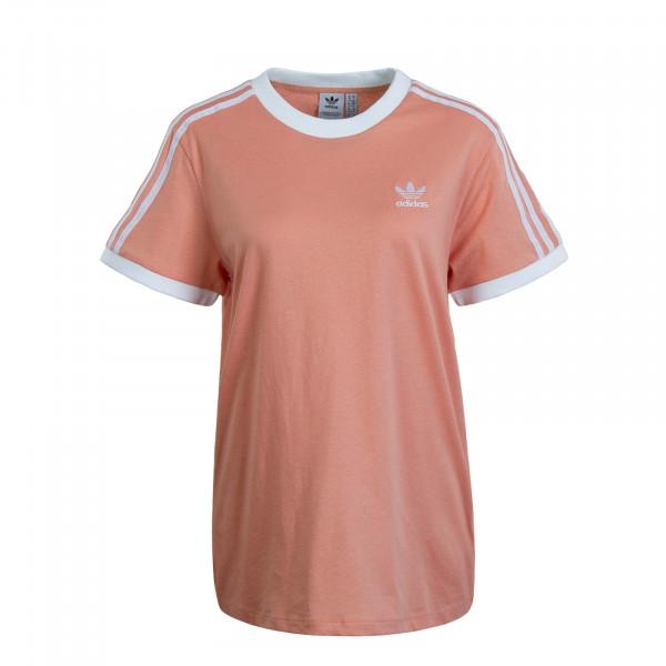 Damen T-Shirt 3 Stripe Dusk Pink