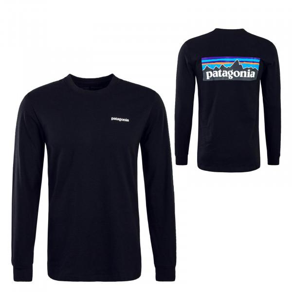 Patagonia Longshirt P6 Logo Responsi Black