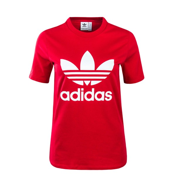 Adidas Wmn TS Trefoil Red White
