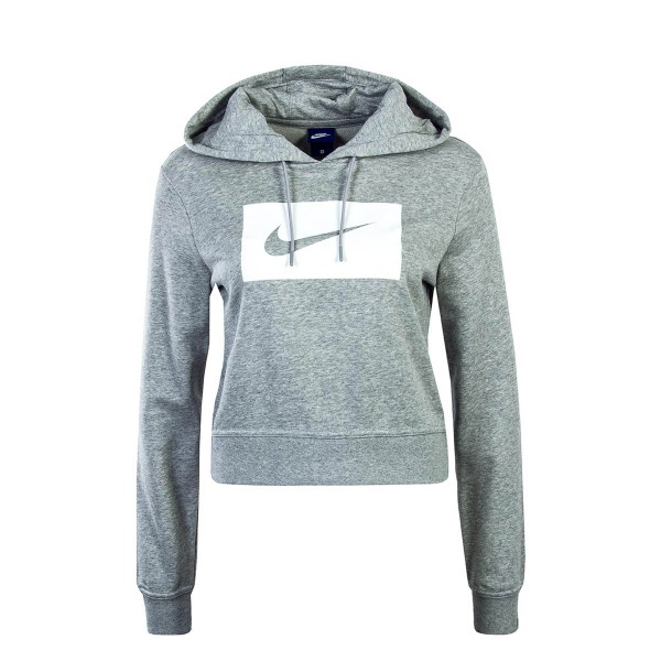 Nike Wmn Hoody NSW Grey White