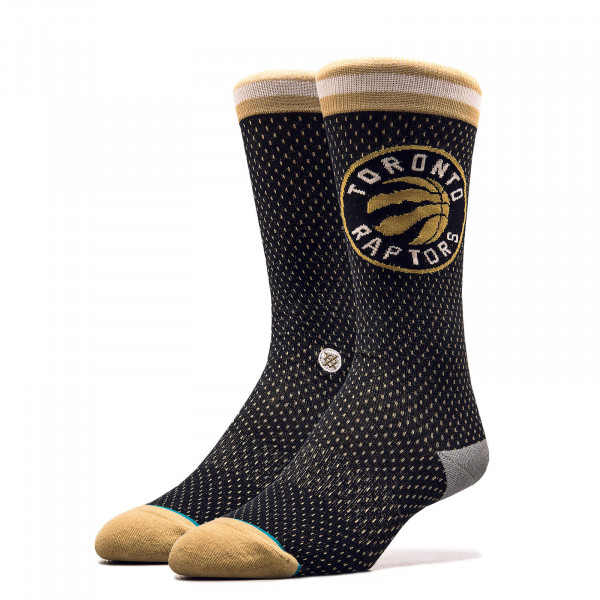Unisex Socken NBA Raptors Black Gold