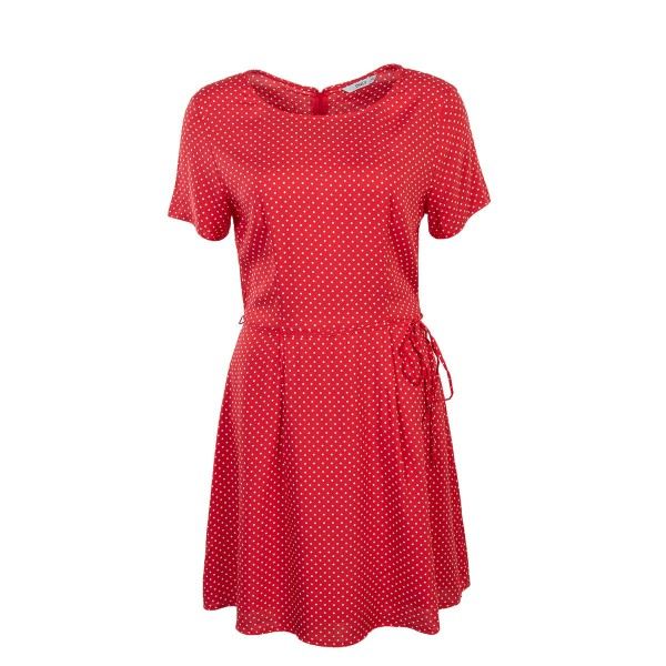 Only Dress Laura Mini Dots Red White