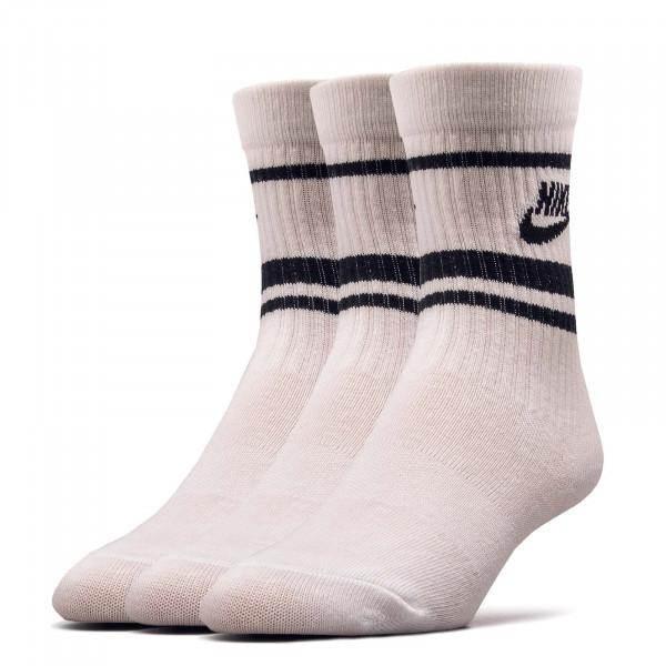 3er-Pack Socken Essential Stripe White Black