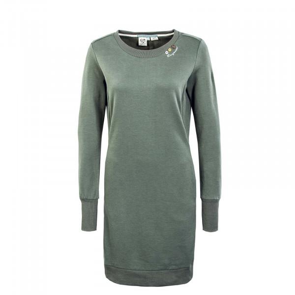 Damen Kleid - Menita Organic Dress - Olive