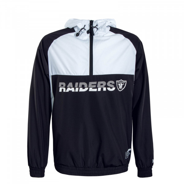 Herren Breaker NFL Colour Block Black White