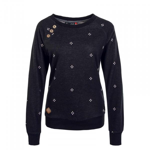 Damen Sweatshirt - Daria Dots - Black